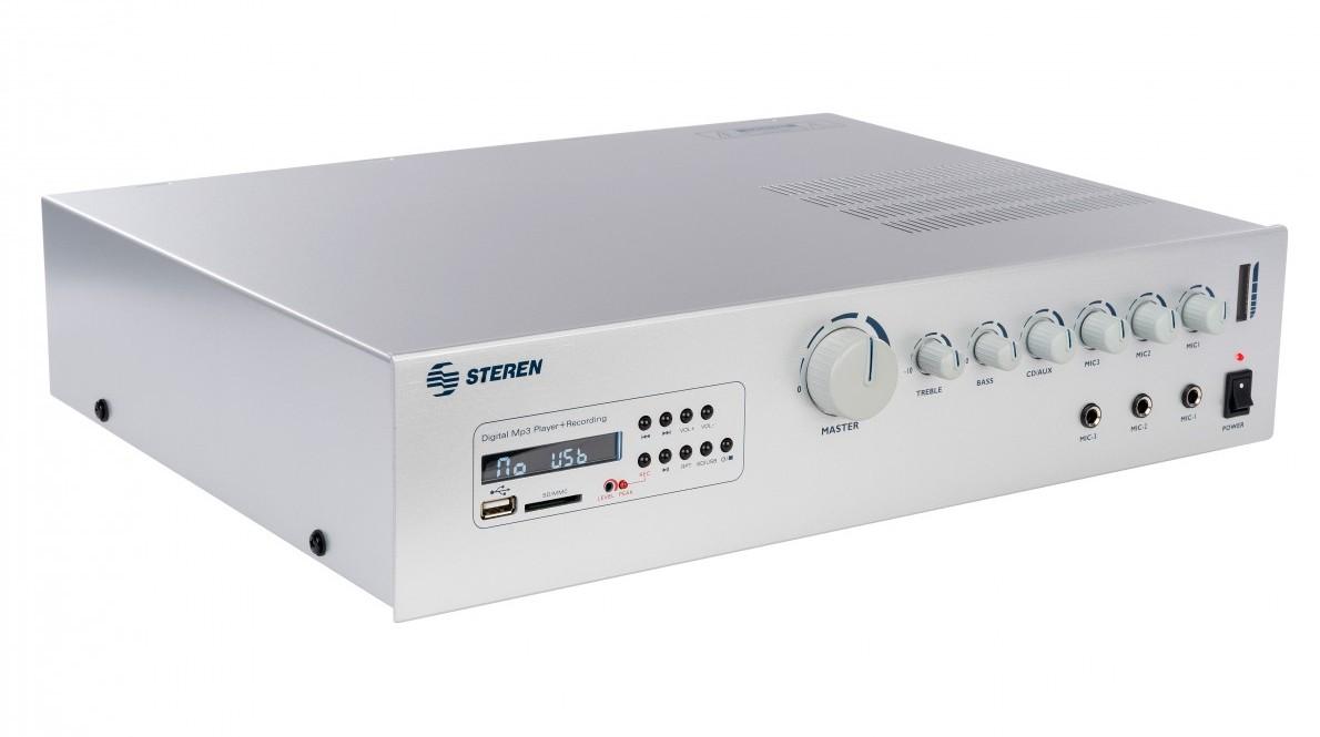 Steren AMP-210SD 210W 8-ohm / 70v Commerical Audio Power Amp